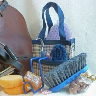 Canter Tote in traditional blue tote
