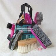 unpacked pony brush kit