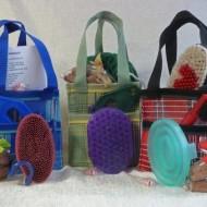 Prize tote baskets